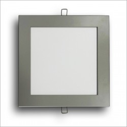 Square Panel Silver SMD 25W
